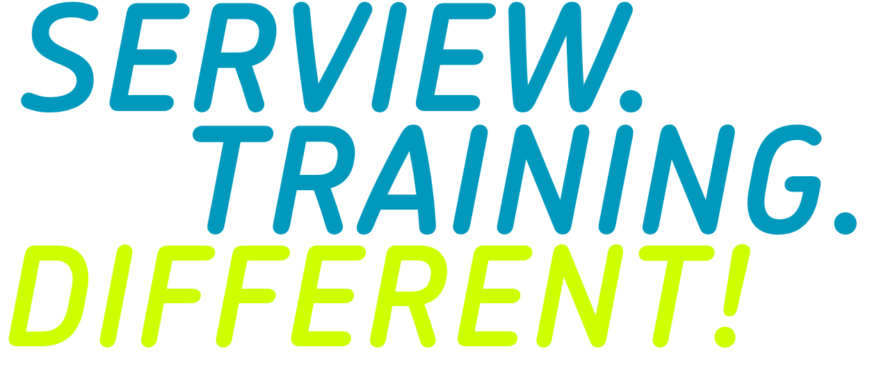 Serview Training Different